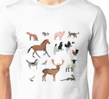 Animals of the UK Unisex T-Shirt