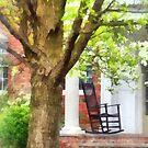 Rocking Chair on Porch by Susan Savad