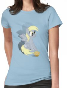Cute Derpy Womens Fitted T-Shirt