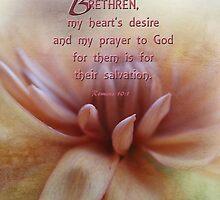 hearts desire-Romans 10:1 by vigor