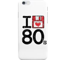 I Heart 80's iPhone Case/Skin