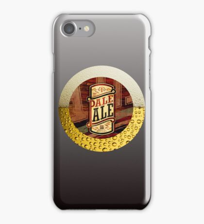 VINTAGE BEER LABEL iPhone Case/Skin