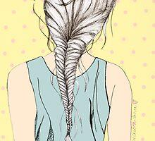 Hair Braid by mariamtronchoni