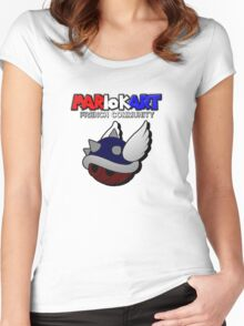 MARIO KART FRENCH COMMUNITY Women's Fitted Scoop T-Shirt
