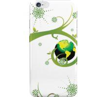 Earth Eco Friendly Design iPhone Case/Skin