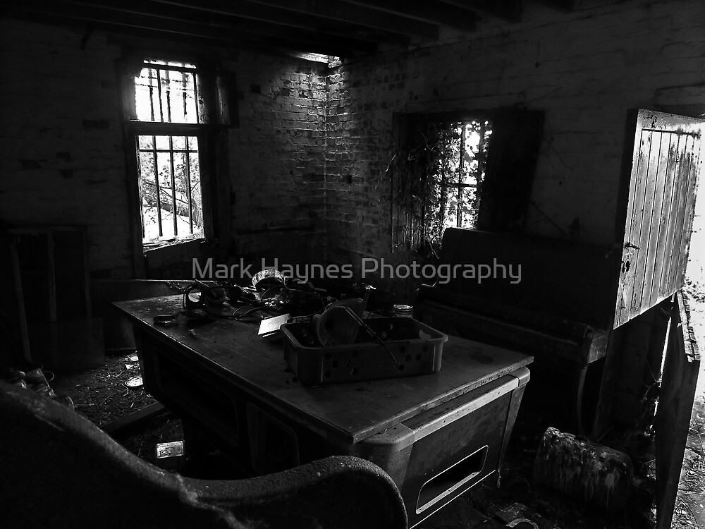 The Pool Table and the Piano.(Edwardian Dereliction) by Mark Haynes Photography