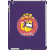 Bored to Death iPad Case/Skin