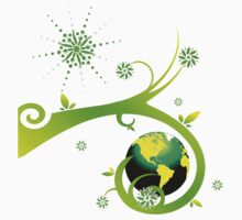 Earth Eco Friendly Design Kids Clothes