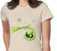 Earth Eco Friendly Design Womens Fitted T-Shirt