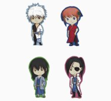 Gintama Sticker Set 1 by SamuraiWARRIOR7