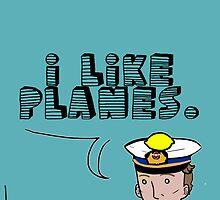 I like planes by Baghrirella