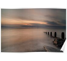 Sunset Over The Solway Poster