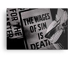 Sin  Metal Print