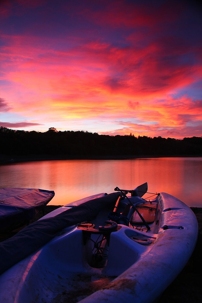 ardingly at sunset by James Calvey