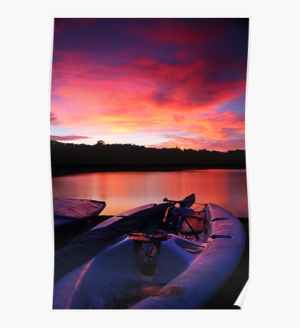 ardingly at sunset Poster