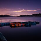 moonlit ardingly by James Calvey