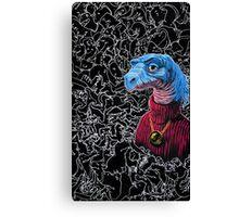 Carl Sagan Dino Canvas Print