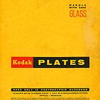 Vintage Kodak Plates Ipad Case by brainsontoast