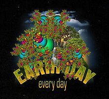 Earth Day 43vr by blacknight