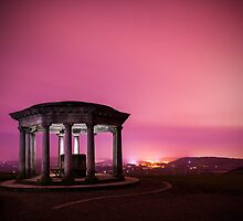 ingliss monument at night by James Calvey