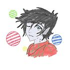 Marshall Lee colour by pokegirl93