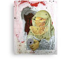 LOS MENSAJES OCULTOS (the hidden messages) Canvas Print