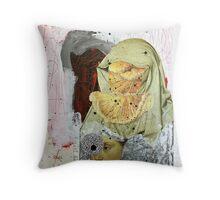 LOS MENSAJES OCULTOS (the hidden messages) Throw Pillow