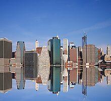 Lower Manhattan NYC by fernblacker