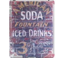 American Soda iPad Case/Skin