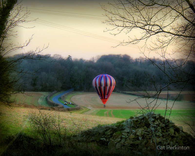 Dusk landing by Cat Perkinton