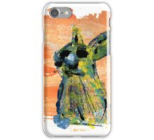 Painted Rabbit iPhone Case/Skin