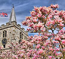 St Lawrence Church - Chobham by Colin  Williams Photography