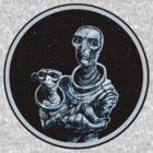 Cosmic Madonna and Monkey by nicholasknudson