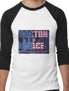 ✌☮† ❤ † BOSTON PEACE TEE SHIRT WITH BIBLICAL TEXT & THE LORDS PRAYER WRITTEN INSIDE OF CRYSTAL BALL✌☮† ❤ †  Men's Baseball ¾ T-Shirt