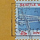 1962 Seattle World&#x27;s Fair Stamp by DrBillCreations
