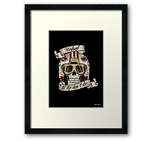 Rebel for Life Framed Print