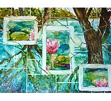 The Mosaic Garden Photographic Print