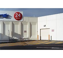 24-Hours (for your convenience) Photographic Print