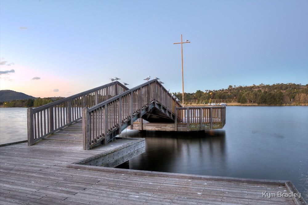 Just Arching   Lake Tuggeranong   Canberra Australia by Kym Bradley