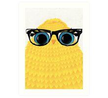 Nerd Chick Art Print