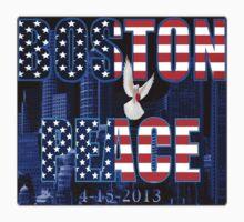 ✌☮† ❤ † BOSTON PEACE TEE SHIRT WITH DOVE HOLDING A HEART ✌☮† ❤ †  by ✿✿ Bonita ✿✿ ђєℓℓσ