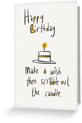Birthday Candle by twisteddoodles