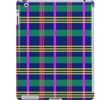 plaaaid! - navy, pink, purple, green & yellow iPad Case/Skin