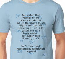 Recreational Mathematics Unisex T-Shirt