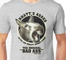 """Rhatt's Asses The Original """"Bad Ass"""" Unisex T-Shirt"""