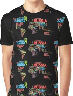 The world in words. Graphic T-Shirt