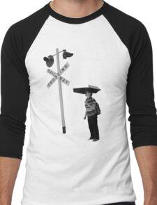 Railway Crossing Men's Baseball ¾ T-Shirt