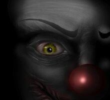 Dead Clown by Cagedfreak