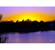 Magical Sunset Photographic Print