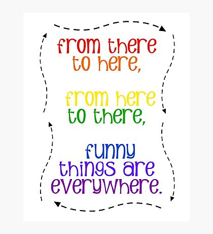 Funny Things Everywhere Photographic Print